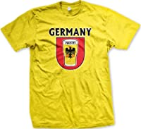 Germany Prost! Mens T-shirt, Deutschland German Eagle Beer Crest Design Men's Tee Shirt