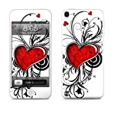 Apple iPod Touch 5th Gen Decalgirl skin - My Heart - High quality precision engineered skin sticker for the iPod Touch 5 / 5g / 5th generation (16gb / 32gb / 64gb) latest model launched in 2012 / 2013