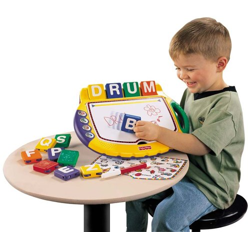 Fisher Price Learning Sensation Play with Letters Desk - 1