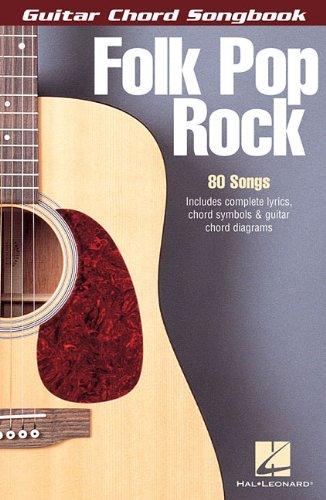 FOLK POP ROCK                GUITAR CHORD SONGBOOK 6X9