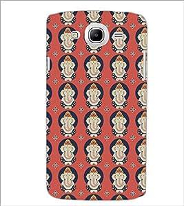 PrintDhaba Lord Ganesha D-5386 Back Case Cover for SAMSUNG GALAXY MEGA 5.8 (Multi-Coloured)