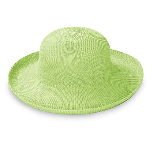 3c93bd922 Wallaroo Women's Victoria Sun Hat - Lightweight and Packable Straw Hat, Lime