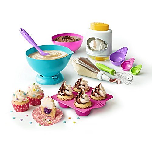 Real Cooking Ultimate Baking Starter Set - 37 Pc. Kit Includes Sprinkles, Cake & Frosting Mix (Cooking Kids Set compare prices)