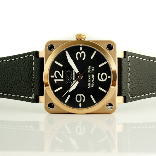 Brand New Xo Retro Men'S Watch P-51 Mustang Square Collection