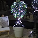 Innoo Tech 10M 100 LED Copper Patio String Fairy Lights with power adapter for Indoor, Bedroom, Christmas, Party, Wedding(White)