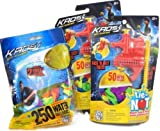 Kaos Tie-Not Water Balloon Filling Set Dual Combo Pack With 350 Total Biodegradable Water Balloons