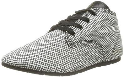 Eleven Paris Basgraf W, Chaussures de ville femme - Noir (Black), 36 EU