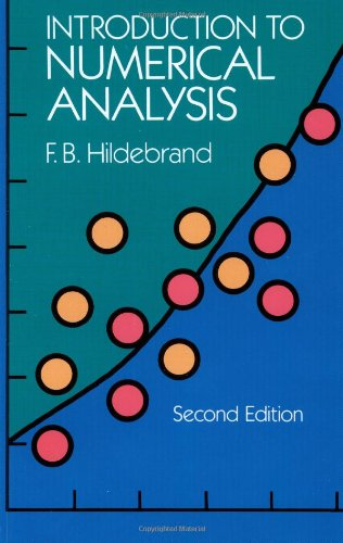 Introduction to Numerical Analysis: Second Edition (Dover...
