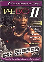 Tae Bo II Get Ripped Complete 6 workouts 2 DVDs Billy Blanks