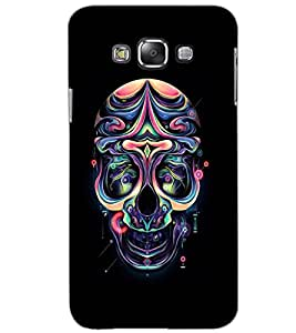 SAMSUNG GALAXY GRAND 3 SKULL Back Cover by PRINTSWAG