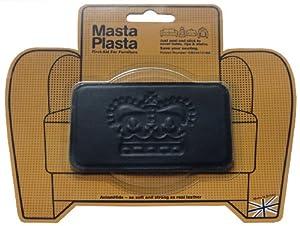 MASTA PLASTA peel and stick repair patch 100mm x 60mm black crown