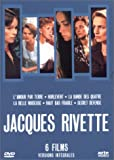 Coffret Jacques Rivette 8 DVD - 6 films (L'Amour par terre / Hurlevent / La Bande des quatre / La Belle noiseuse / Haut bas fragile / Secret défense)