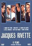 echange, troc Coffret Jacques Rivette 8 DVD - 6 films (L'Amour par terre / Hurlevent / La Bande des quatre / La Belle noiseuse / Haut bas fra