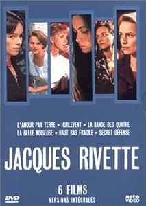 Coffret Jacques Rivette 8 DVD - 6 films (L'Amour par terre / Hurlevent / La Bande des quatre / La Belle noiseuse / Haut bas fragile / Secret défense)