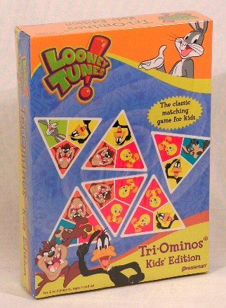 Looney Tunes Tri-Ominos Kids' Edition