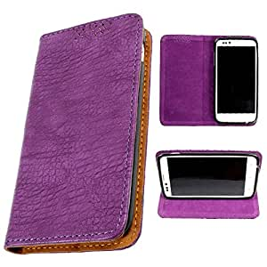 DooDa PU Leather Flip Case Cover For Karbonn A35