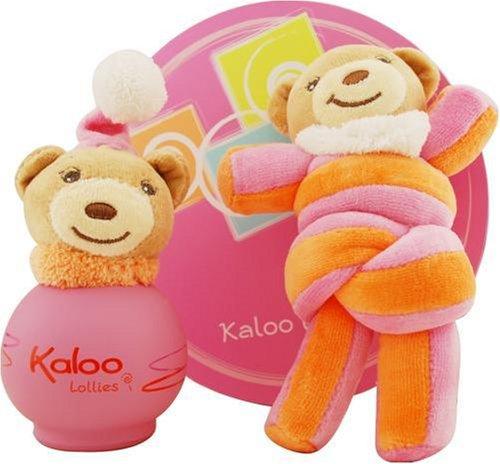 Kaloo By Kaloo Parfums For Women. Lollies Alcohol Free Eau De Toilette Spray 3.4 Oz + Toy Girls.