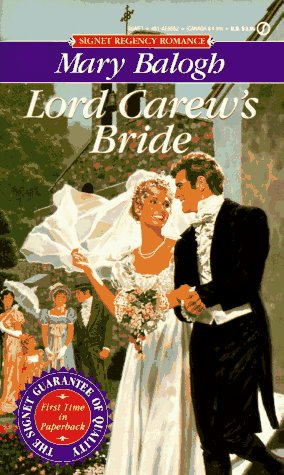Lord Carew's Bride (Signet Regency Romance), Balogh, Mary