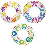 Intex Recreation Lively Print Swim Ring #59230 - Color May Very - 2 Pack