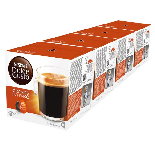 Choose Nescafé Dolce Gusto Caffè Grande Intenso, Pack of 4, 4 x 16 Capsules (32 Servings) - Nestlé