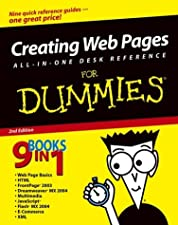 Creating Web Pages All in One For Dummies by Richard Wagner