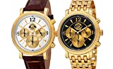 Disney Versailles Men's Chronograph Watch Set Collectors Edition