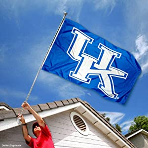 Buy Kentucky Wildcats UK University Large College Flag by College Flags and Banners Co.