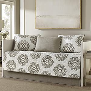 Stone Cottage 5 Piece Medallion Reversible Daybed Cover Set, Twin