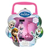 Disney Frozen LCD Watch and Bracelet Gift Set in Tin