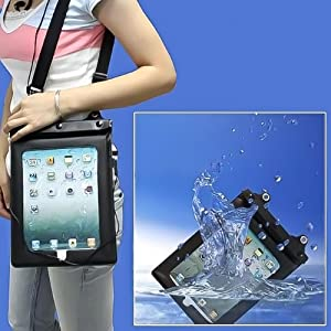 Waterproof Sleeve Case for Apple Ipad 1, 2, 3 and latest Model with Audio Jack