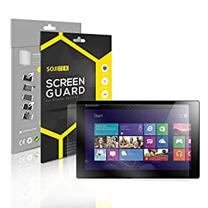 SOJITEK Lenovo IdeaTab Lynx K3011 Premium Ultra Crystal High Definition (HD) Clear Screen Protector [7-Pack] - Lifetime Replacements Warranty + Retail Packaging