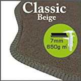 Volvo 740 / 760 1983 - 1990 Classic Beige Tailored Floor Mats
