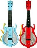 誰にでも弾ける!不思議なギター ミュージックギター(レッド)