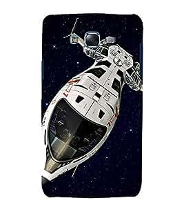 printtech Star Sky SpaceShip Back Case Cover for Samsung Galaxy E5 / Samsung Galaxy E5 E500F