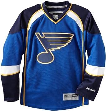 NHL St. Louis Blues Premier Jersey, Blue, Large