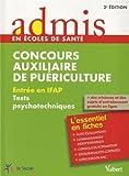 Concours auxiliaire de puériculture - Entrée en IFAP : Tests psychotechniques