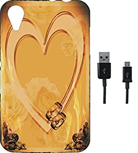 BKDT Marketing Beautifully printed Soft Back cover for Sony Xperia Z3 With Charging Cable