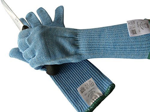 Cut Resistant Gloves Kitchen Long Cuffs For Wrists Cut