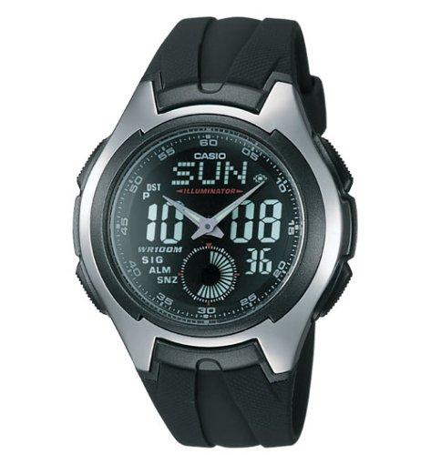 Casio Mens Ana-Digi Electro-Luminescent Sport Watch #AQ160W-1BV