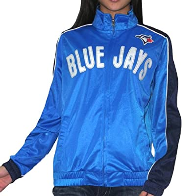 MLB Toronto Blue Jays Womens Athletic Zip-Up Jacket