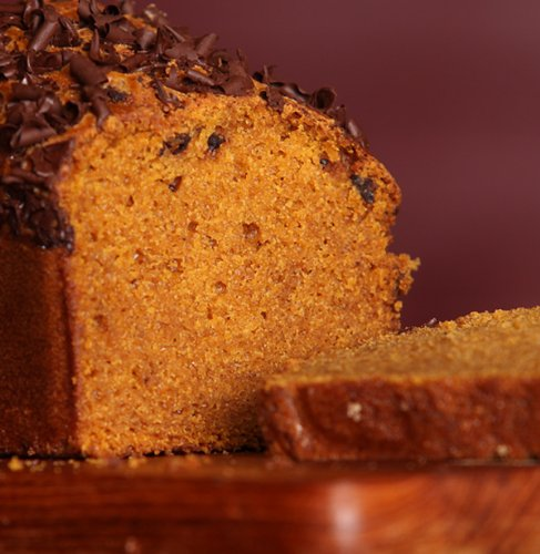 Pumpkin Dark Chocolate Bread - Loaffin