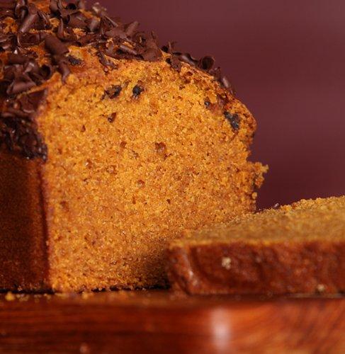 Pumpkin Dark Chocolate Bread - Loaffin