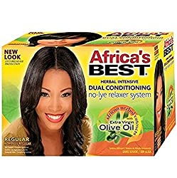 Africas Best Dual Conditioning No-Lye Relaxer System Regular