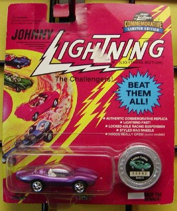 JOHNNY LIGHTNING CUSTOM TURBINE DIE CAST VEHICLE