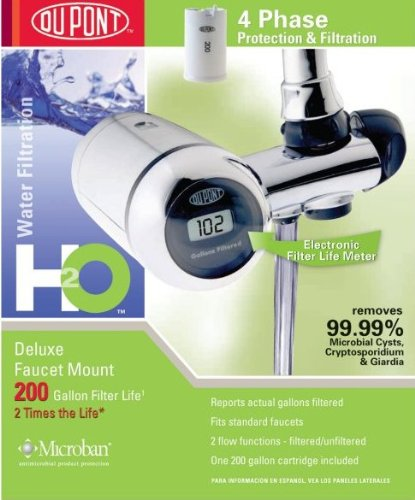 DuPont Deluxe Faucet Water Filter System review - Best Water Filter ...