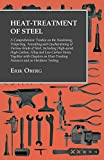img - for Heat-Treatment of Steel - A Comprehensive Treatise on the Hardening, Tempering, Annealing and Casehardening of Various Kinds of Steel, Including ... Chapters on Heat-Treating Furnaces and on book / textbook / text book
