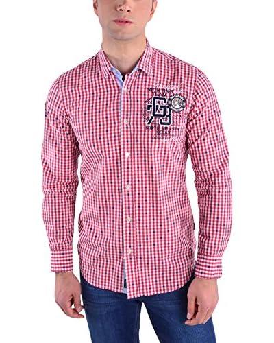 Galvanni Camisa Hombre Richie Rojo