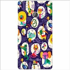 Design Worlds - Microsoft Lumia 540 Dual SIM Designer Back Cover Case - Mul...