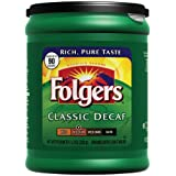Folgers Classic Roast Decaffeinated Ground Coffee 113 Ounce Packages  Pack of 6