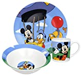 Disney Mickey Mouse Clubhouse 3-Piece Dinnerware Set